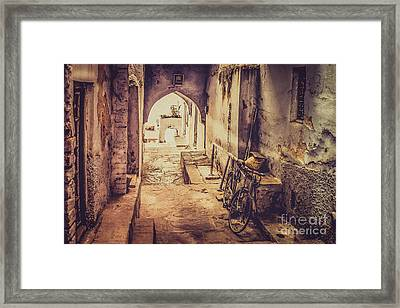 A Passage In India Framed Print by Catherine Arnas