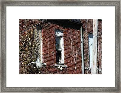 A Past Framed Print by Joseph Yarbrough