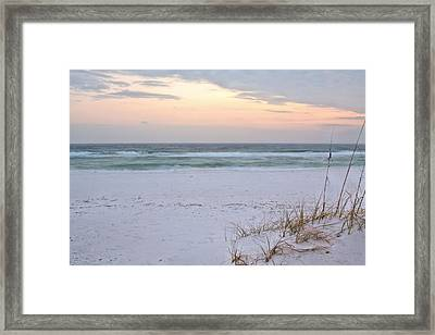 A Pastel Sunrise Framed Print by JC Findley