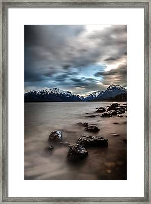A Patch Of Blue Framed Print by Aaron Aldrich