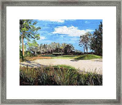 A Peaceful Days Work Framed Print by Annie St Martin