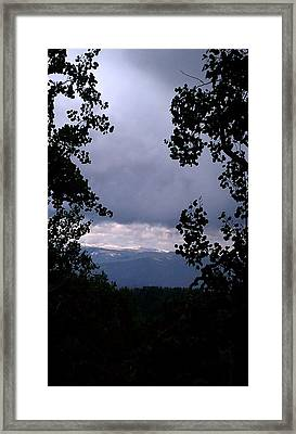 Framed Print featuring the photograph A Peek At Heaven by Fortunate Findings Shirley Dickerson