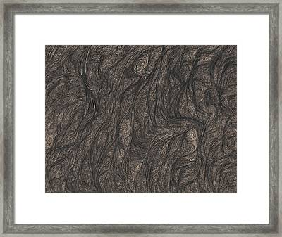 A Peek Into A Joyful Moment At The Throne Of The Undead Framed Print by David Mivshek
