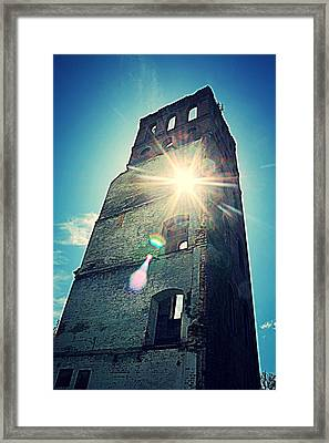 A Peek Into History Framed Print by Sarah E Kohara