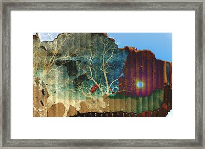 A Peremptory Challenge Framed Print by Jan Amiss Photography