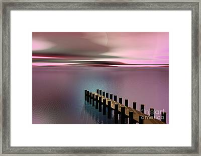 A Perfect Calm Framed Print