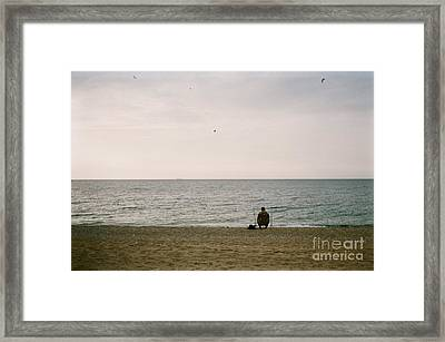 A Perfect Day For Bananafish Framed Print by Krolikowski Art