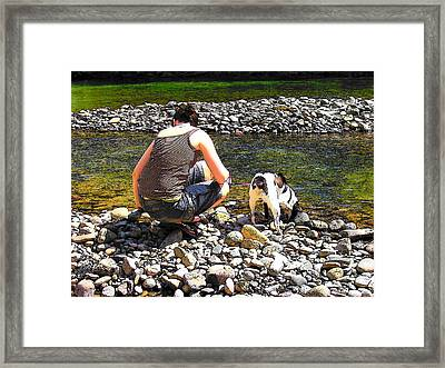 A Perfect Day Framed Print by Micki Findlay