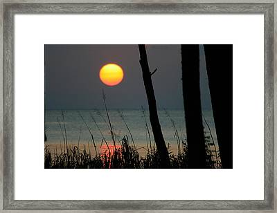 A Perfect End Framed Print