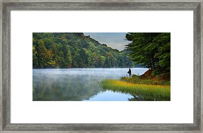 A Perfect Morning Framed Print