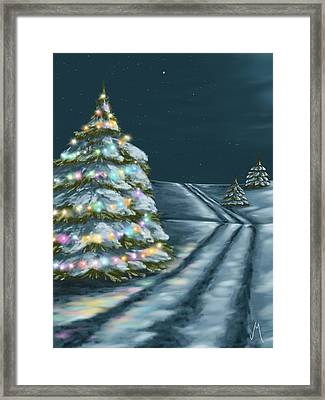 A Perfect Night Framed Print by Veronica Minozzi