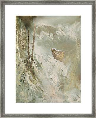 A Perfect Storm Framed Print by Judy Paleologos