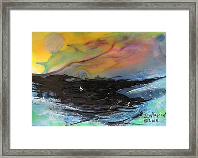 A Perfect Storm Framed Print