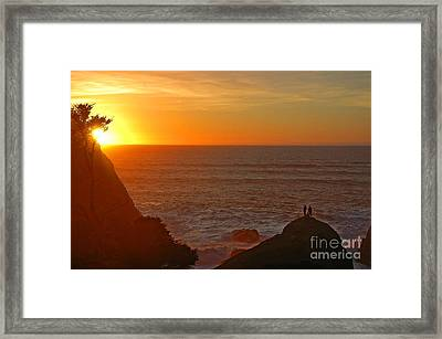 A Perfect Time Framed Print