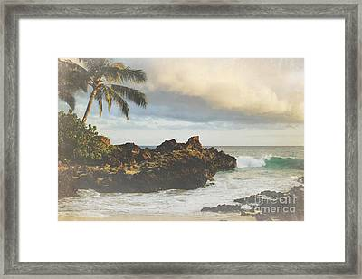 A Perfect Union Of Love Framed Print by Sharon Mau
