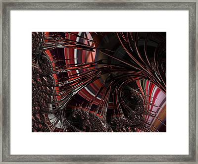 A Perilous Journey Framed Print