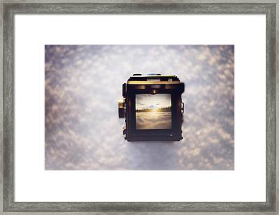 A Photographer's Perspective Framed Print by Amber Fite