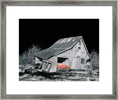A Picker's Dream Framed Print by Reba Brew