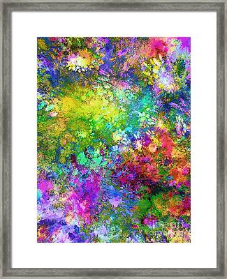 A Piece Of Summer Framed Print by Klara Acel