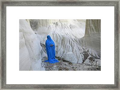 A Place Called Earth 4 Framed Print