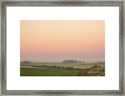 A Place Called Morning Framed Print by Evelina Kremsdorf