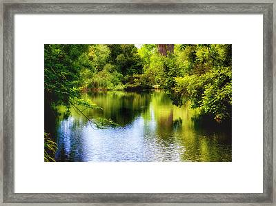 A Place For Peace Framed Print by Joseph Hollingsworth