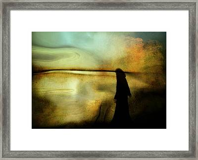 A Place For Thoughts Framed Print by Gun Legler
