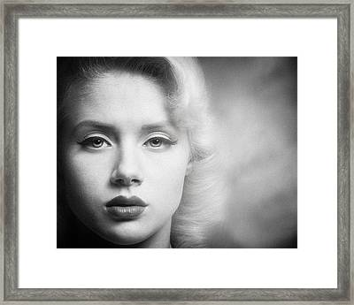 a place in time Mosh Framed Print