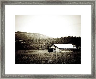 A Place In Time Framed Print by Terry Eve Tanner