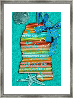A Place Like Mississippi Framed Print by Sennie Pierson