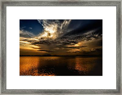 Framed Print featuring the photograph A Place Of Rest by Linda Karlin