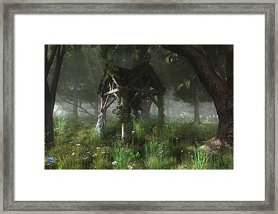 A Place Of Secrets Framed Print by Melissa Krauss