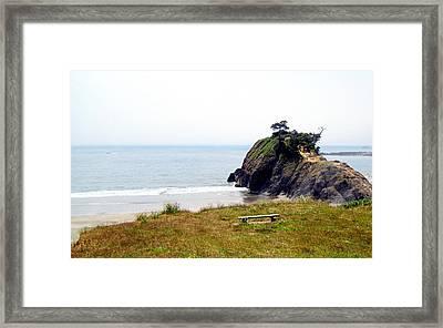 A Place Of Solitude Framed Print by AJ  Schibig