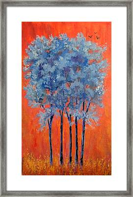 Framed Print featuring the painting A Place To Call Home by Suzanne Theis