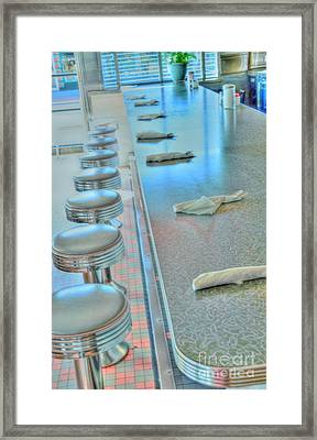 A Place To Eat Framed Print by Kathleen Struckle