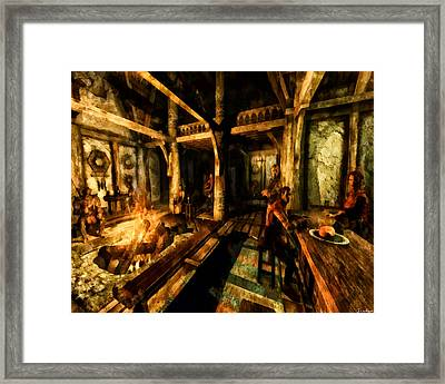 A Place To Relax Framed Print by Joe Misrasi