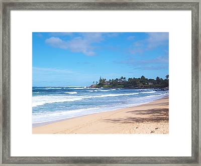 Framed Print featuring the photograph A Place To Relax by Sheila Byers