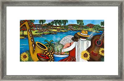 A Place To Remember Framed Print by Annie Maxwell