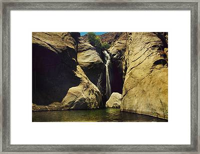 A Place To Rest My Weary Heart Framed Print