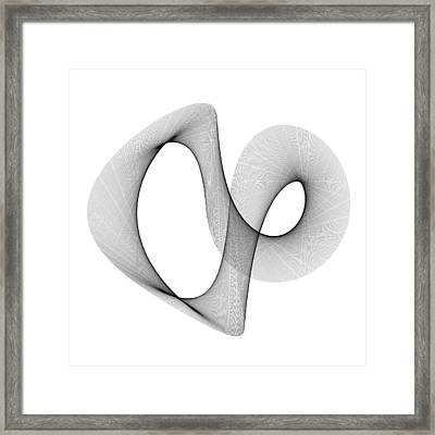 A Plus 1000 And B Plus 2000 Framed Print