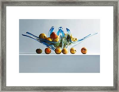 A Poor Man's Apple Framed Print by Mark Van crombrugge