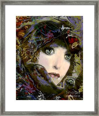 A Portrait Of A Friend Framed Print by Doris Wood
