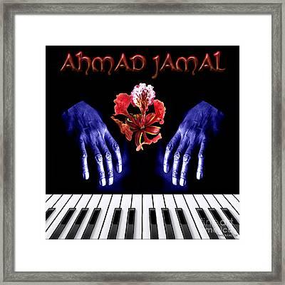 Ahmad Jamal Framed Print