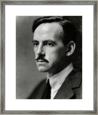 A Portrait Of Eugene O'neill Framed Print