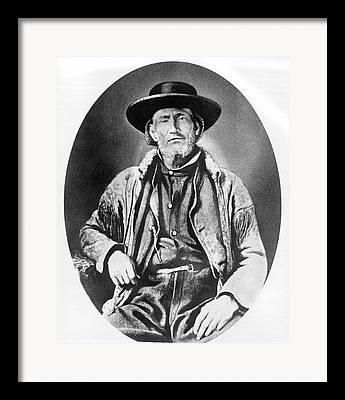 Jim Bridger Framed Prints