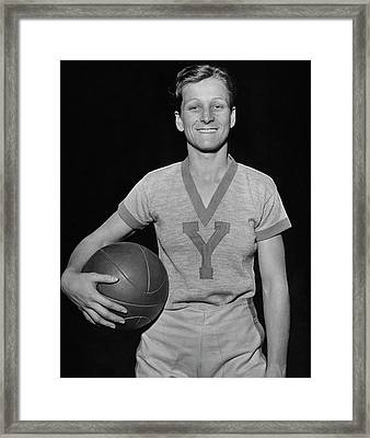 A Portrait Of Mildred Babe Didrikson Framed Print
