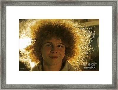 A Portrait Of You . Framed Print by  Andrzej Goszcz