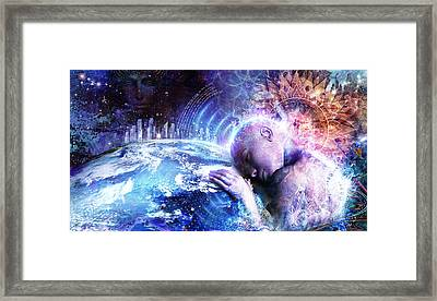 A Prayer For The Earth Framed Print by Cameron Gray