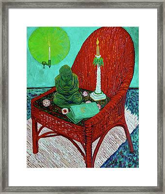 A Prayer For Vincent Framed Print by Linda J Bean