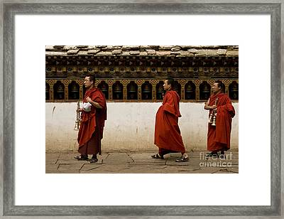 Framed Print featuring the digital art A Prayer With Music by Angelika Drake